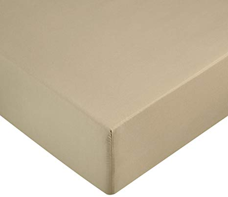 drap house Amazon Basics beige